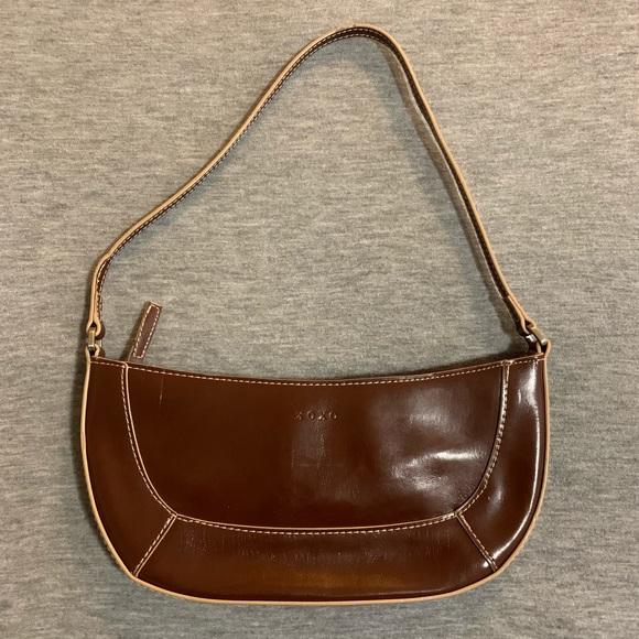 XOXO Handbags - Xoxo | Brown Vinyl Mini Bag